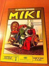 MIKI nr 8 A COLORI IL MITICO RANGER  ed. EUROPA