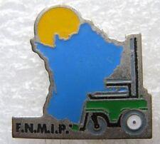 Pin's FNMIP engin de chantier elevateur#B4