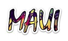 Maui Palm Trees Tropical Car Vinyl Sticker - SELECT SIZE