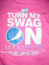 2009-B96 Toyota PK-Bridgeview IL-Black Eyed Peas-Akon-LMFAO-Clarkson-T Shirt-XL