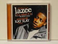 Lazee-It is what it is CD 2007 (us promo) Kay slay ADL Joell Ortiz rare