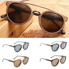 Men Women Wood Polarized 100% UV 400 Lens Protection Sunglasses Eye Glasses