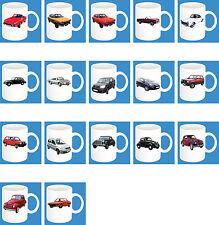 300ml Keramik Becher mit Motiv: Fiat Auto Modelle Kaffee Tasse Car Teil 2 von 2