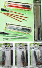 Oakwood Reinigungsset 4tlg. Reinigungsstab Putzstock für Cal .22, 12 und 7mm