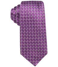 Alfani Mens Leonard Grid Necktie