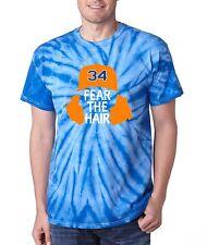 """TIE DYE Noah Syndergaard New York Mets """"Fear The Hair""""  jersey  T-shirt"""