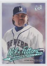 1997 Fleer Ultra Platinum Medallion Edition #P438 Mike Fetters Milwaukee Brewers