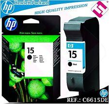INK BLACK 15 ORIGINAL PRINTERS HP CARTRIDGE BLACK HEWLETT PACKARD C661