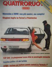 Quattroruote 456 1993 La F1:quanto costerà. Kia Sephia:ricca a poco prezzo.