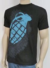 Grenade Overlay Bomb Tee Mens Black 100% Cotton Short Sleeve T-Shirt New NWT