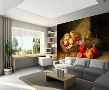 3D Apple And Pomegranate Fruit Wall Paper Wall Print Decal Wall AJ WALLPAPER CA