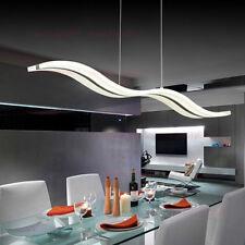 38W Modern Acrylic LED Wave Chandelier S shape Pendant Light Ceiling Lamp Lamps