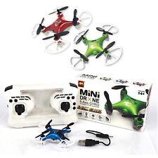 MINI DRONE 3 VELOCITA QUADRICOTTERO CON LED PORTATILE 6 ASSI  HC 616 + CAVO USB