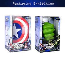 Marvel Avengers Captain America Shield HULK Deco Wall LED Night Light Hot sell