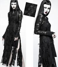 Robe longue gothique punk lolita fashion destroy déchiré laçage mystique Punkrav