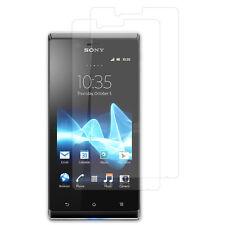 Transparentes Protector de Pantalla para Sony Xperia J St26i/ST26a