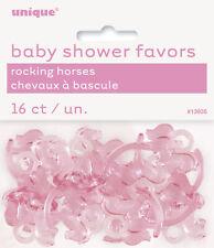 Baby Shower CAVALLO A DONDOLO ROSA, BLU O assortiti Baby Shower Favori