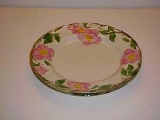 Franciscan China Desert Rose Pattern Dinner Plate Set