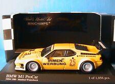 BMW M1 #25 PROCAR MANFRED WINKELHOCK DRM 1980 MINICHAMPS 430802525 1/43 IRMEN