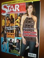 Star Tv.ELISABETTA CANALIS,LAURE MANAUDOU & FREDERICK BOUSQUET, LORY DEL SANTO,k