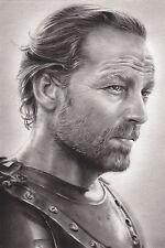 Game of Thrones Jorah Mormont Canvas Art Print