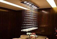 Modern Crystal Raindrop Ceiling Light Pendant Lamp Dinner room Chandelier Lights