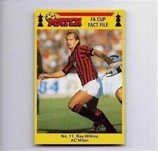 MATCH FA Cup Fact File football card – VARIOUS