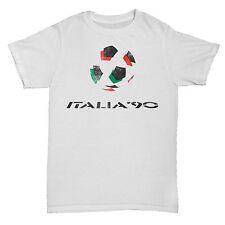 ITALIA 90 INSPIRED WORLD CUP FOOTBALL SOCCER RETRO CULT MENS FANS T Shirt