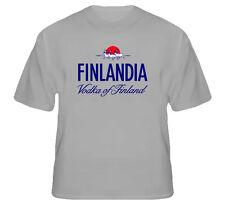 Finlandia Classic Vodka Finland Drink T Shirt