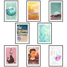 Poster mit Rahmen Bilder gerahmte Wandbild Kunstdruck Bilderrahmen c-C-0197-ao-a
