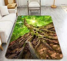 Plant Green Leaf 105 Non Slip Rug Mat Room Quality Elegant Carpet Uk Cobb