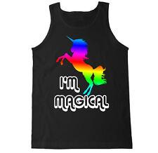 I'M MAGICAL PRIDE RAINBOW COLORS POPULAR TRENDY GAY LESBIAN EDC MENS TANK TOP