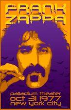 0610 Vintage Music Poster Art-Frank Zappa NEW YORK