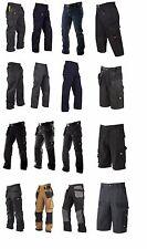 Lee Cooper Ropa De Trabajo Pantalones 3/4 & Cortos Cargo Pantalón Militar NUEVO