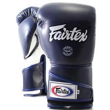 Fairtex Muay Thai Kick Boxing Bgv6 Gloves Blue White Color Sparring Mma