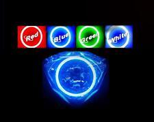 Kawasaki ER6n ER-6N Headlight Halo Angel Eye Demon LED Plasma COB Light single