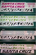 Santa Cruz Bike Decals Stickers Set of 7 MTB DH Santacruz Forks Nomad Heckler