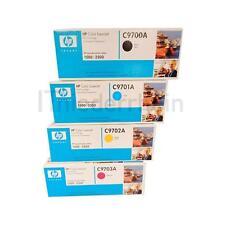 TONER ORIGINALE HP COLOR LASERJET 1500/2500 C9700A C9701A C9702A C9703A HP 121