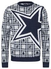 NFL UGLY Sweater Dallas Cowboys Pullover Christmas Big Logo Football 18