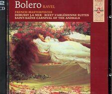 Bolero / Ravel - La Mer L'arlesienne Suites  - 2CD