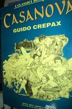 Guido Crepax . CASANOVA volume brossurato Classici del Grifo FU02
