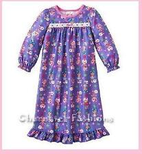 LALALOOPSY Size 2T Girls Nightgown Pajamas pjs TODDLER Sleep Dress