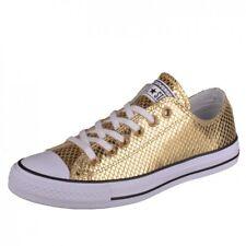 Converse CTAS Ox gold/black/white Sneakers Schuhe Chucks Chuck Damen 555967C