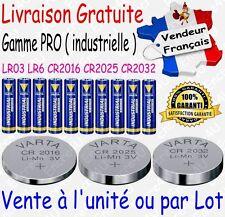 Piles VARTA CR2032 CR2025 CR2016 BULK Lithium 3V LR6 LR06 LR3 LR03 Alcaline 1,5V