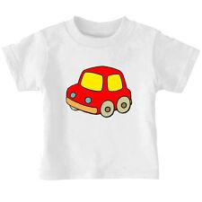 Tiny Red Toy Car Cotton Toddler Baby Kid T-shirt Tee 6mo Thru 7t