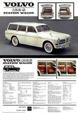 Volvo 122S Station Wagon (c1962) Spec Sheet