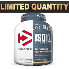 DYMATIZE ISO 100 || 2.3kg 5lb || WPI HYDROLIZED WHEY PROTEIN ISOLATE