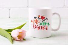 Taza de Cerámica profesor Mamá esposa regalo de té café taza