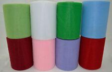 Lot Tulle 15cm coloris au choix, fete, mariage, decoration maison, voiture 15 cm