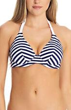 Freya drift away Plongeant Haut Bikini 4047 Armatures Non Rembourré Dos-nu-Bleu Marine